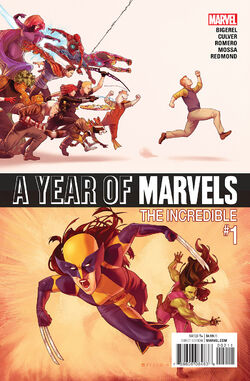 A Year of Marvels The Incredible Vol. 1 -1