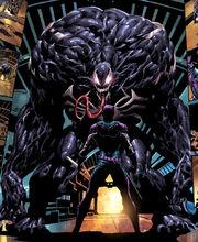 Venom (Mac Gargan) in his savage form