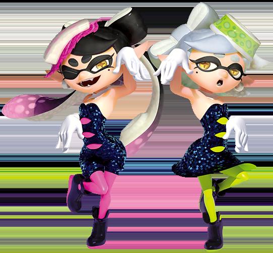 Squid Sisters Splatoon Wiki Fandom Powered By Wikia