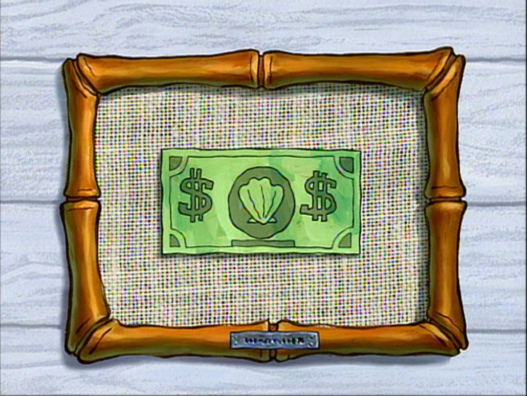 money encyclopedia spongebobia fandom powered by wikia