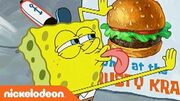 SpongeBob SquarePants 'I Love Krabby Patties' Ultimate Love Song Music Video Nick