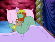 King Neptune Sleeping