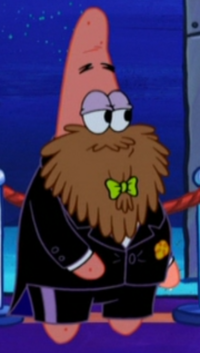 Fancy Patrick with a Beard & Without Hat