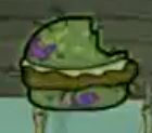 Krabby Katch rotten Krabby Patty