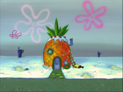 SpongeBob's pineapple house in Season 2-4