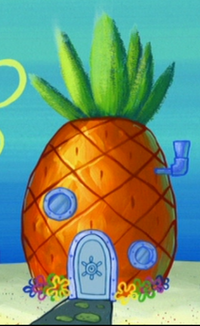 SpongeBob's pineapple house in Season 7-1