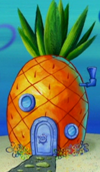 SpongeBob's pineapple house in Season 4-8