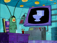 SpongeBob SquarePants Karen the Computer Toilet