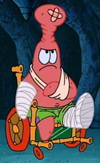 Bandaged Patrick