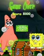 Ghostly Gold Grab game over
