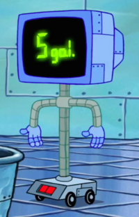 SpongeBob SquarePants Karen the Computer 5 Gal