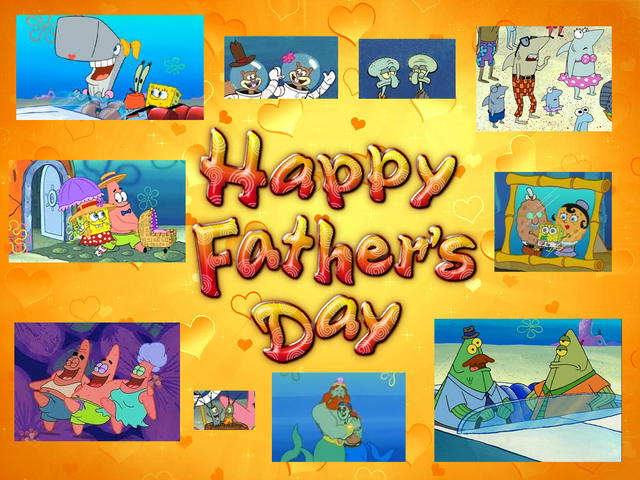File:SpongeBob Father's Day Background.png