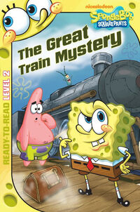 The Great Train Mystery Original cover