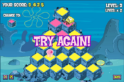 Pyramid Peril - Try again!