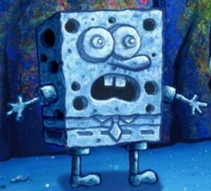 Stone SpongeBob