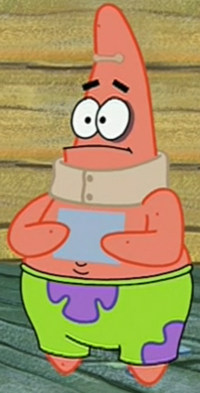 Injured Patrick