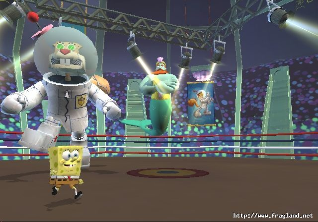 File:3d Giant Robot Sandy, 3d Spongebob, & 3d King Neptune.jpg