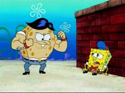 Young Blackjack & Kid SpongeBob