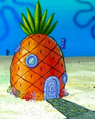File:SpongeBob's pineapple house in Season 2-5.png