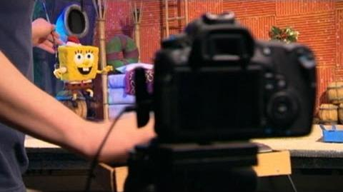 It's a SpongeBob Squarepants Stop-Motion Christmas