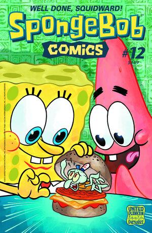 SpongeBobComicsNo12
