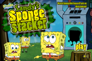 Sandy's Sponge Stacker