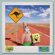 SpongeBob & Patrick Travel the World - Australia 1