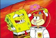 Sandy and spongebob (3)