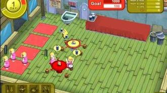 SpongeBob Town 1st Closed Beta Test PlayThrough Part 8 Conch Street and the Krusty Krab!