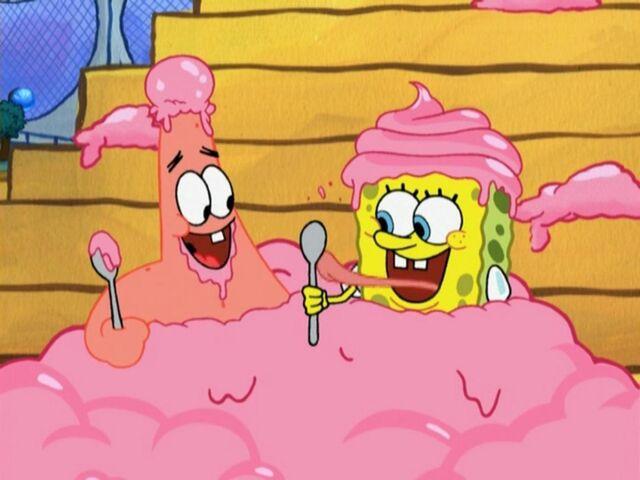 File:Patrick & Spongebob (Atlantis Squarepants).jpg