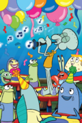SpongeBob SquarePants - Mrs. Puff and Mr. Krabs in Party Time