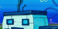 Blue SquarePants' House