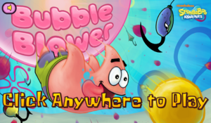Bubble Blower new title screen