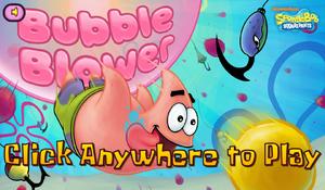 Bubble Blower new title screen