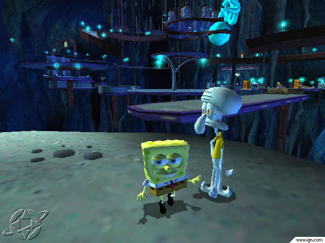 File:3D Spongebob & 3D Squidward.jpg