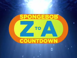SpongeBob Z to A Countdown