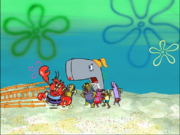Larry in Bubble Buddy-14