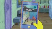 SpongeBob Checks His Snapper Chat 37
