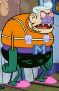 Mind-Controlled Mermaid Man