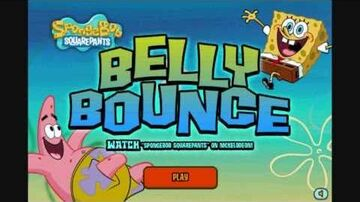 SpongeBob Game Belly Bounce