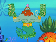 King Neptune in Hello Bikini Bottom!