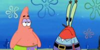 Patrick-Mr. Krabs Relationship