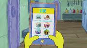 SpongeBob Checks His Snapper Chat 33