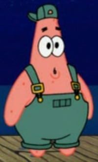 Patrick as a Theater Cew