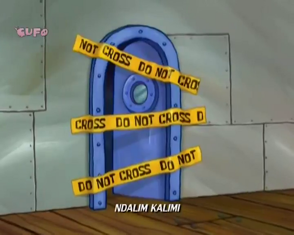 File:S8E1a - Do Not Cross (Albanian).png