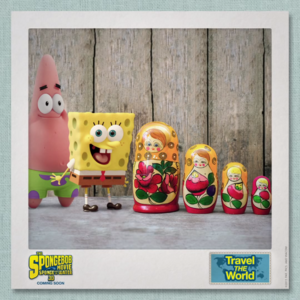 SpongeBob & Patrick Travel the World - Russia 2