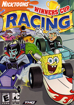 Nicktoons Winners Cup Racing Coverart