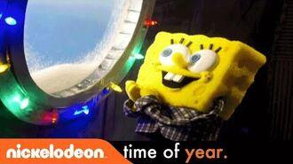It's A SpongeBob Christmas 'Santa Has His Eye On Me' Full Music Video