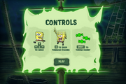 Dastardly Dirty Treats Controls