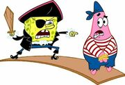SpongeBob & Patrick Pirates 3